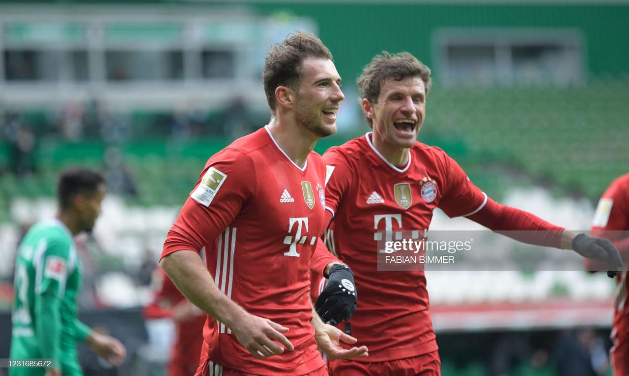 Werder Bremen 1-3 Bayern Munich: Thomas Müller masterclass leads the Bavarians to victory