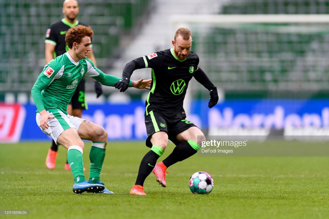 Werder Bremen 1-2 Wolfsburg: Die Wölfe survive to secure another win
