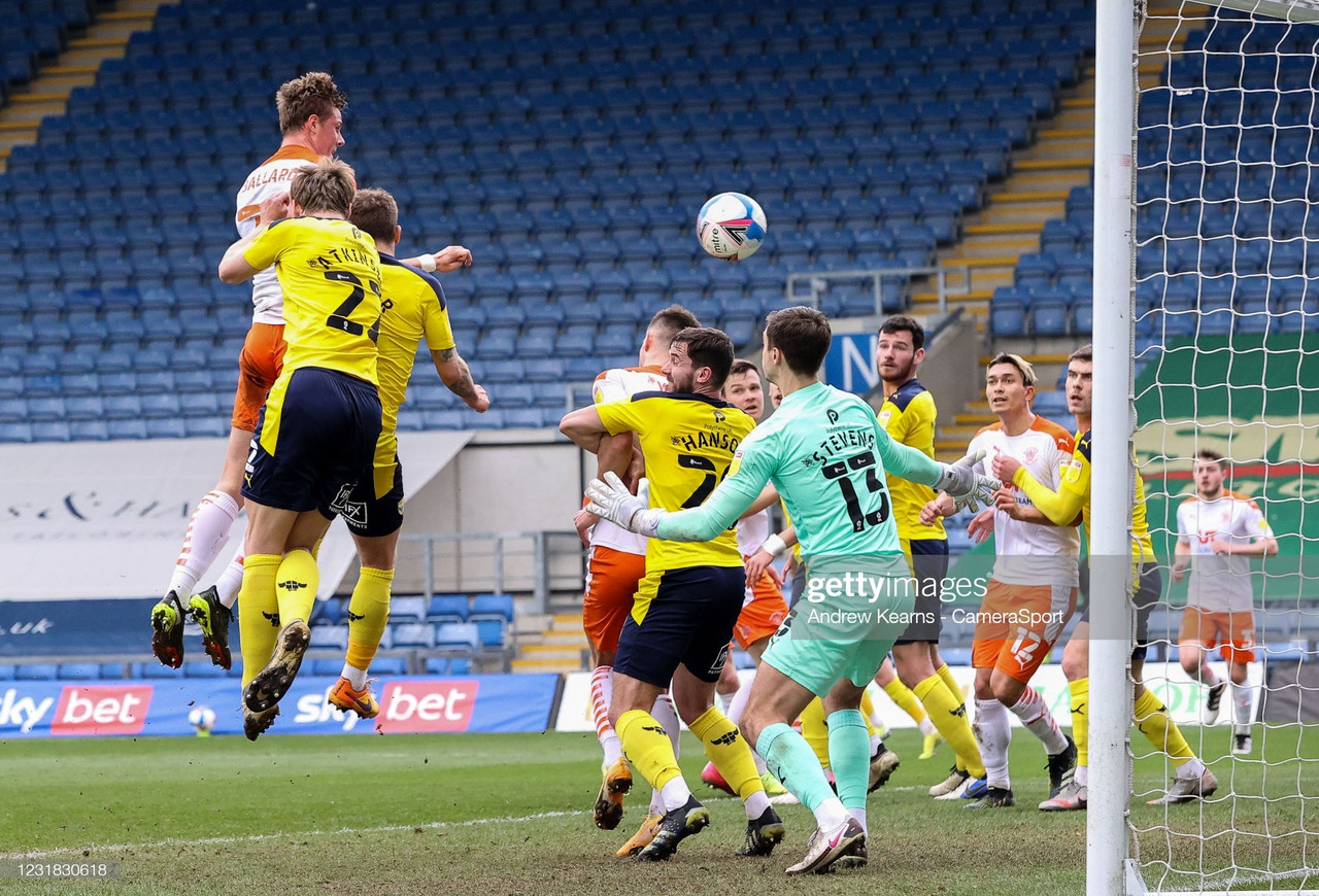 Oxford Utd 0-2 Blackpool: A first-half drubbing halts United's quest for promotion