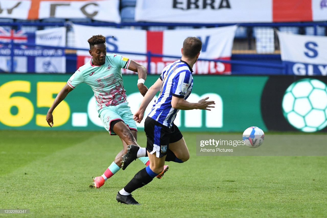Sheffield Wednesday 0-2 Swansea City: Swans keep automatic promotion hopes alive with win in S6
