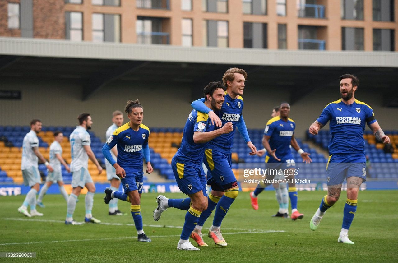 AFC Wimbledon 3-0 Ipswich Town: The Dons pick up another win in their fight for survival