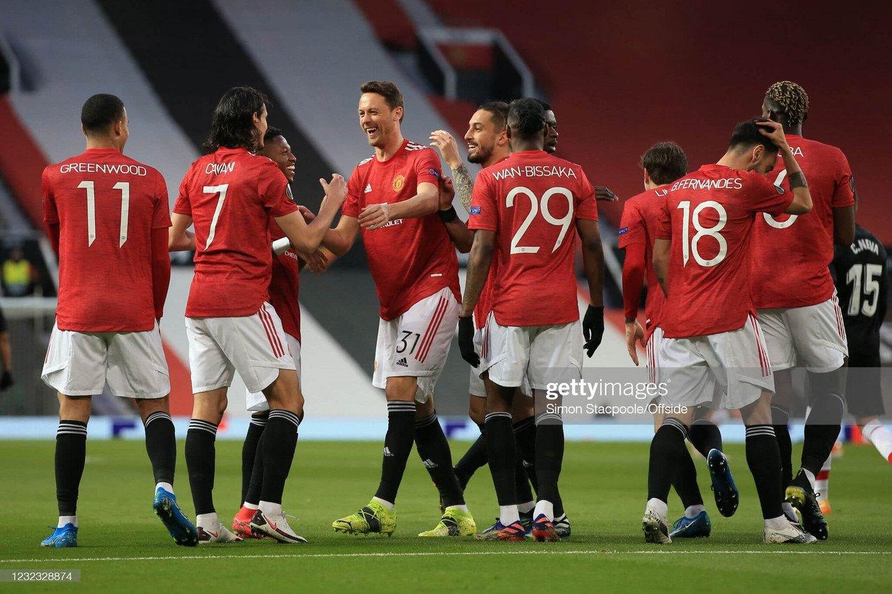 Manchester United 2-0 Granada [4-0]: United through to their fifth semi-final under Solskjaer