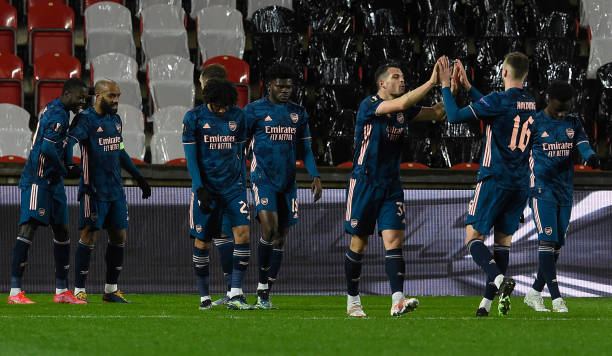 Slavia Prague 0-4 Arsenal: Gunners ease into European semi-final