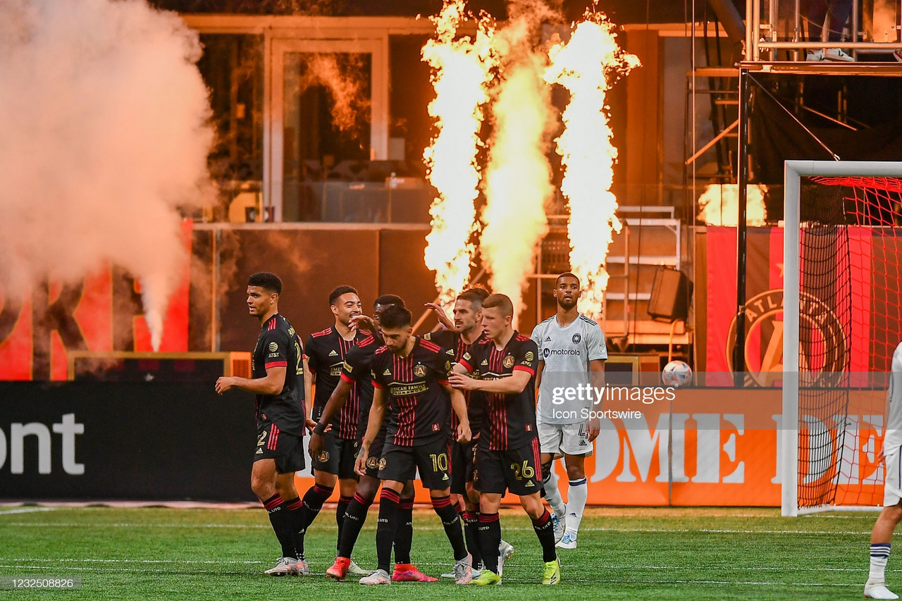 Atlanta United 3-1 Chicago Fire: The Five Stripes win their first game of 2021