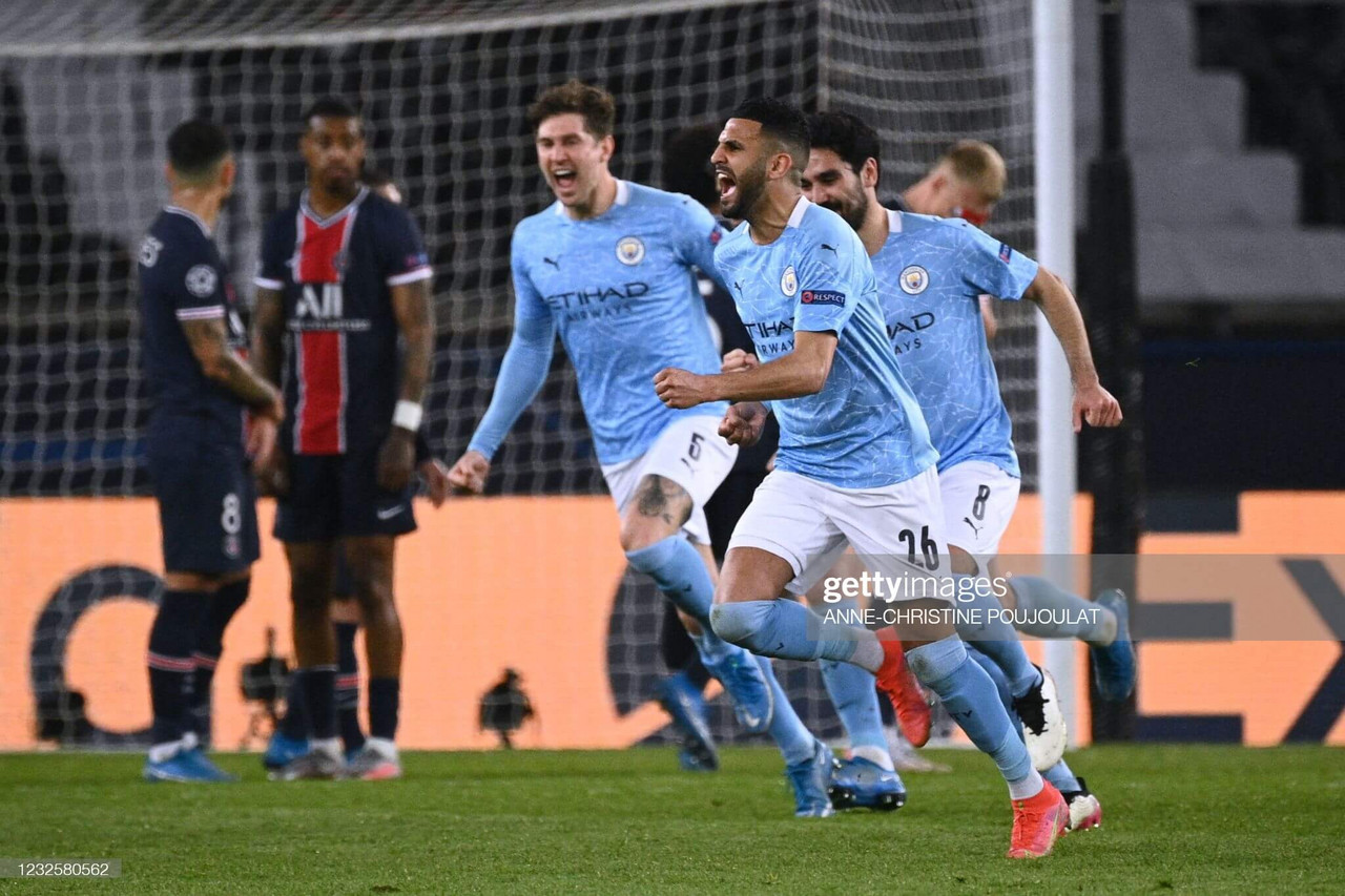 PSG 1-2 Manchester City: Show of character gives City advantage in semi-final