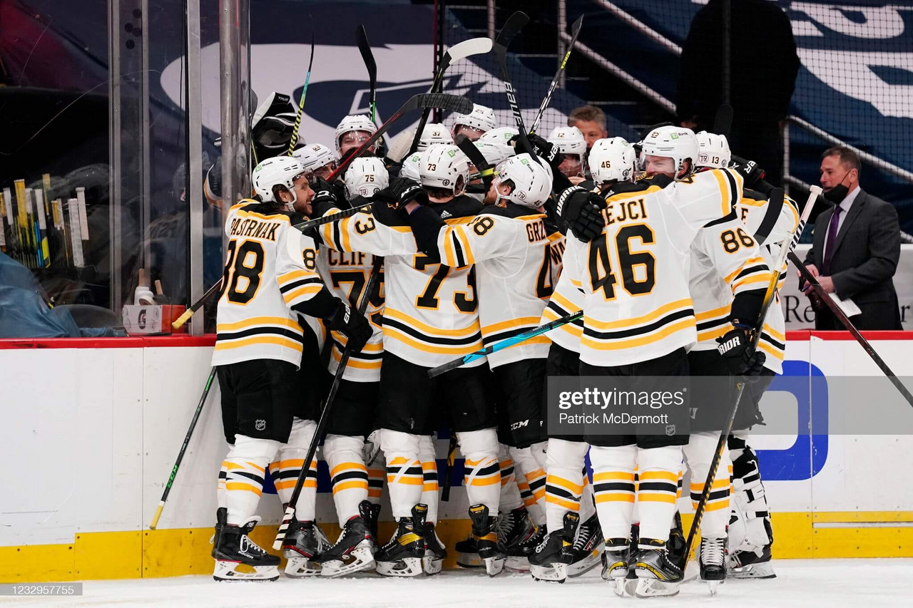 2021 Stanley Cup playoffs: Bruins even up series against Capitals after overtime victory
