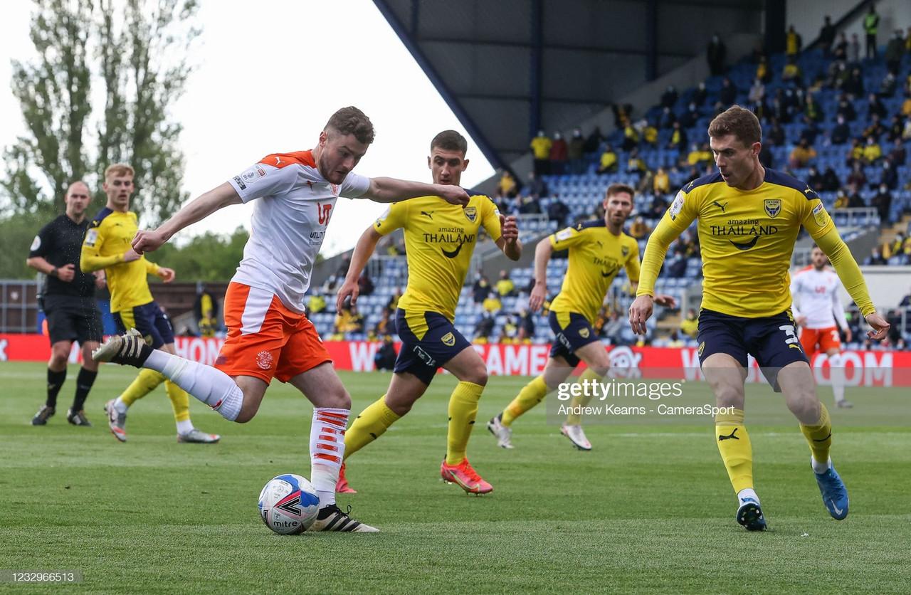As it happened: Oxford United 0-3 Blackpool
