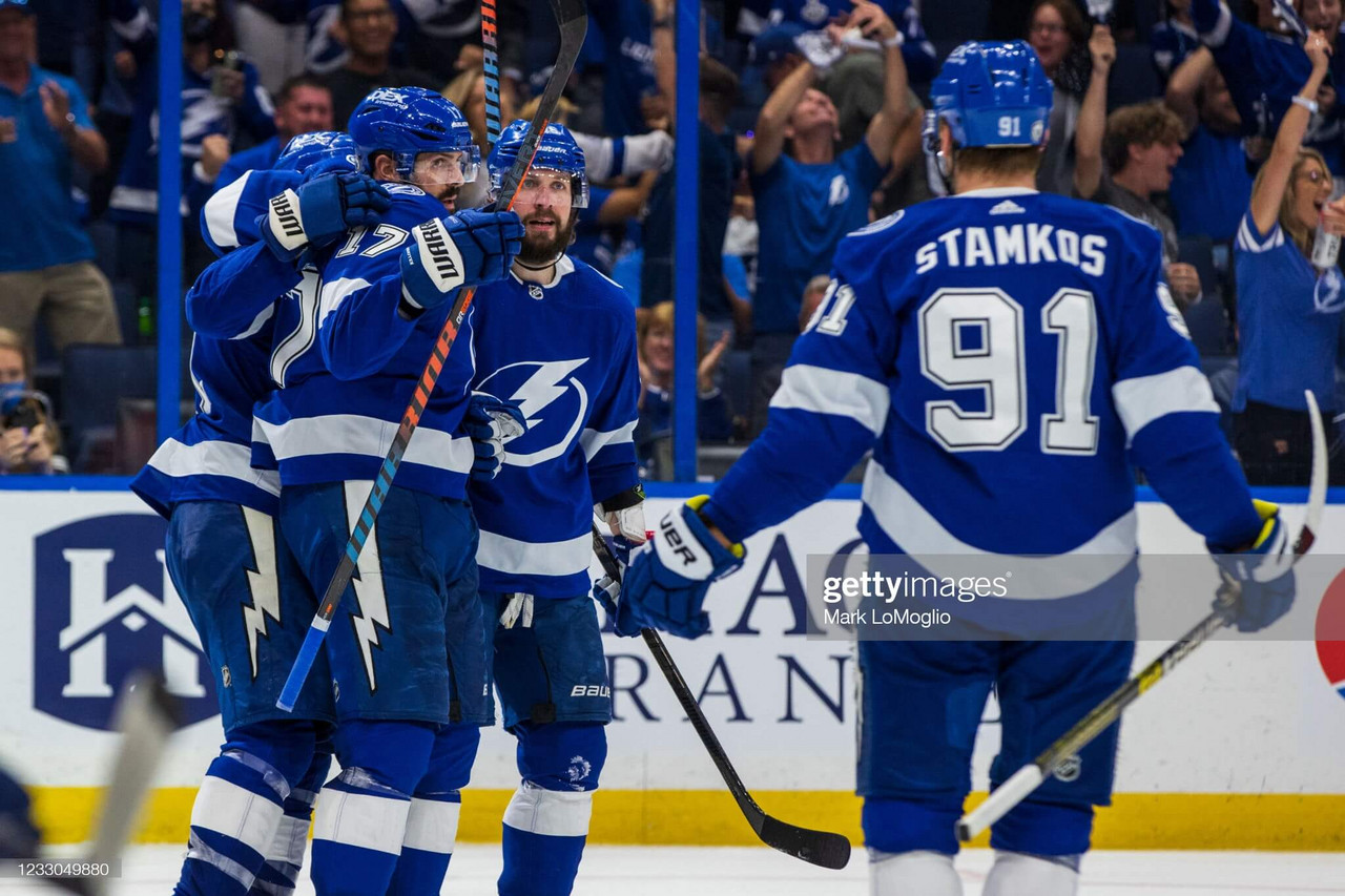 2021 Stanley Cup playoffs: Lightning cruise past Panthers to take command of series