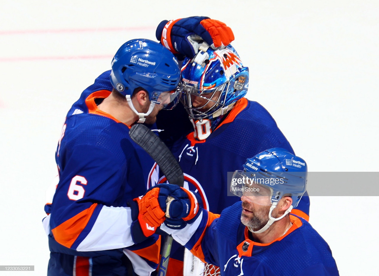 2021 Stanley Cup playoffs: Sorokin leads Islanders past Penguins to even series