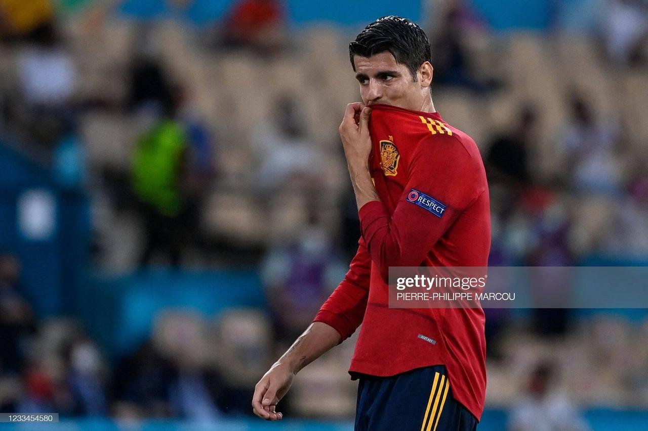 EURO 2020: Enrique defends Morata after Spain draw a blank