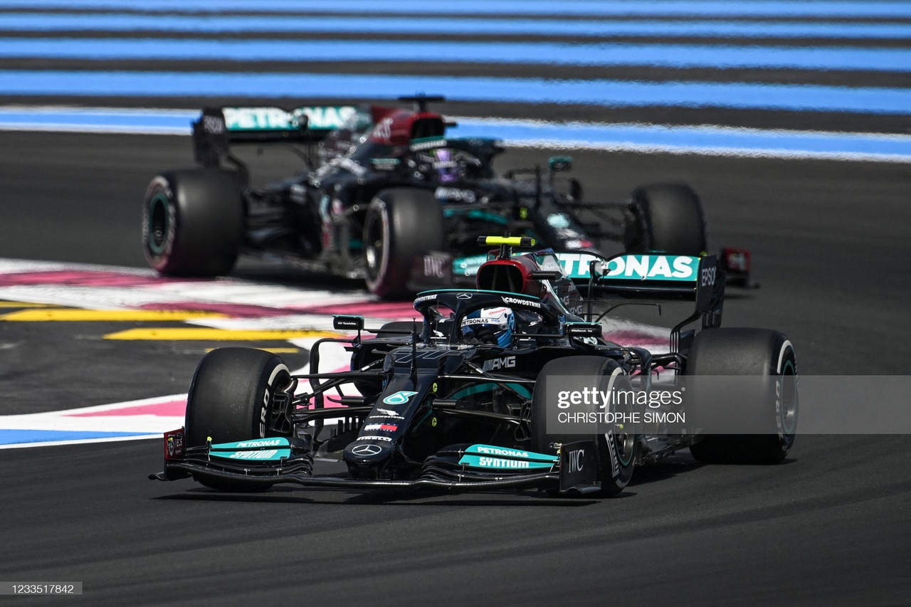2021 French Grand Prix FP1 - Bottas tops times, as Schumacher and Vettel find the walls