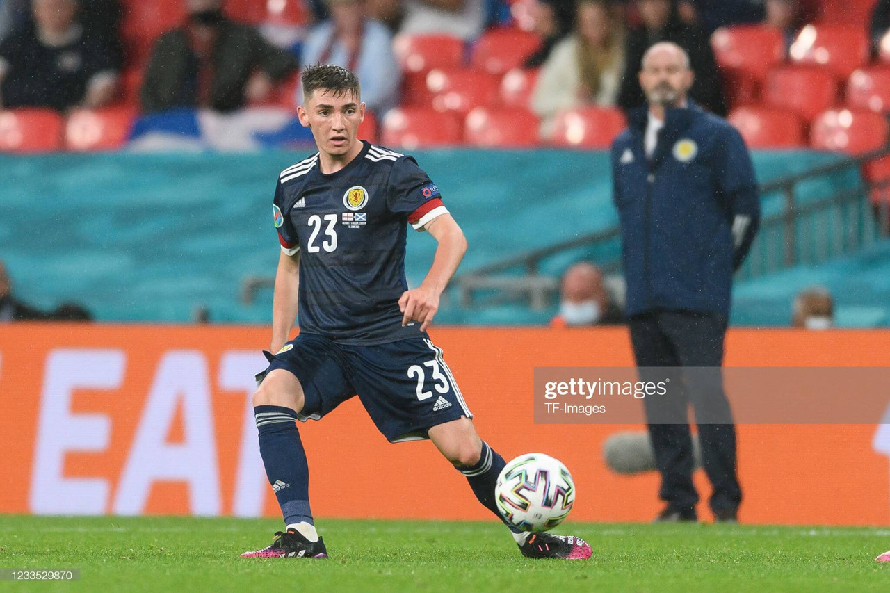 EURO 2020: Billy Gilmour shows he can mix it with the big boys