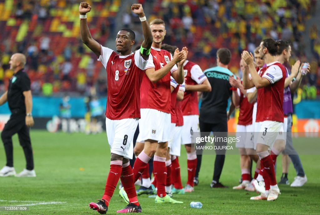Ukraine 0-1 Austria: Baumgartner goal sends Wunderteam to the Round of 16