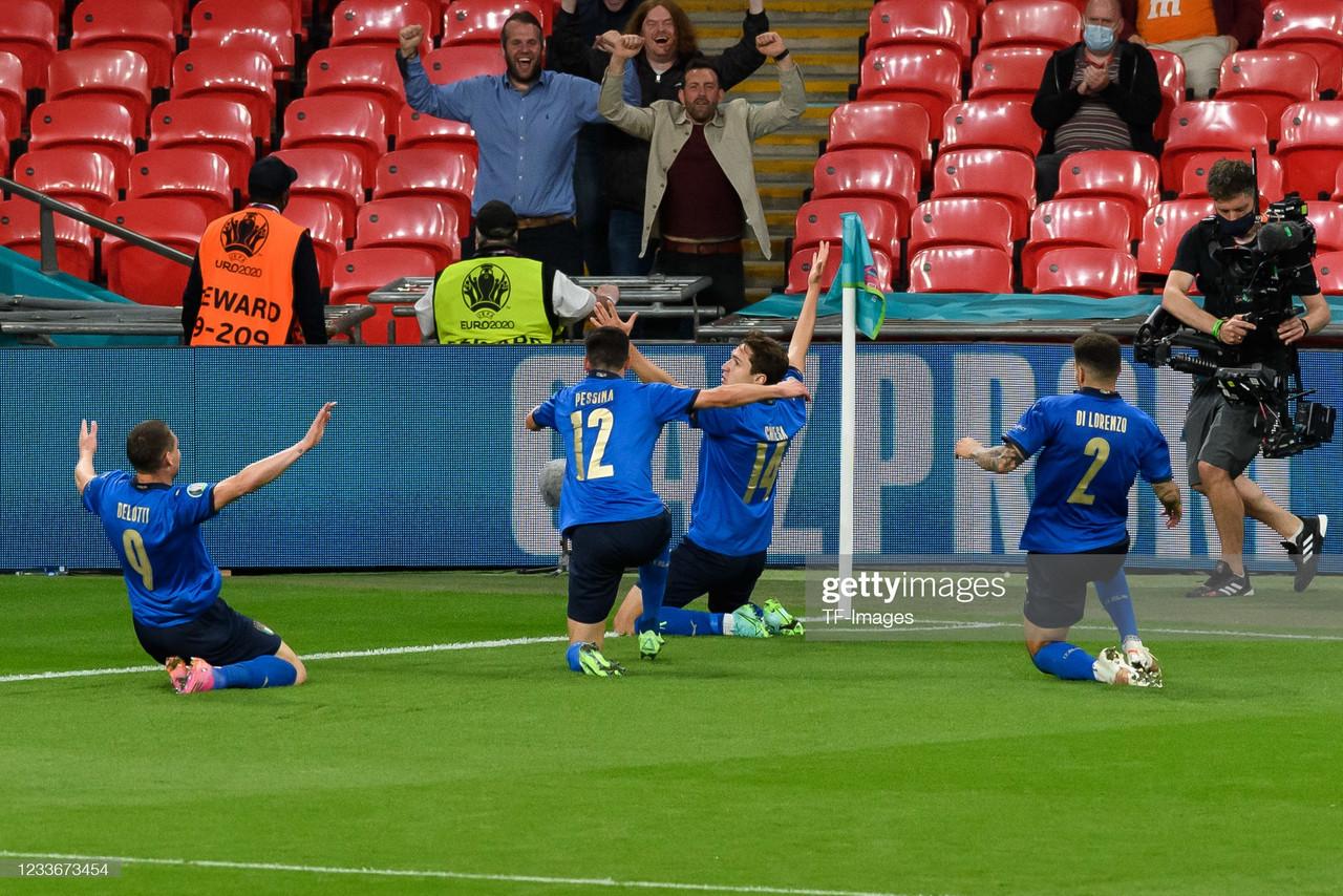 Italy 2-1 Austria: Gli Azzurri overcome a resilient Austria in extra-time to progress in Euro 2020