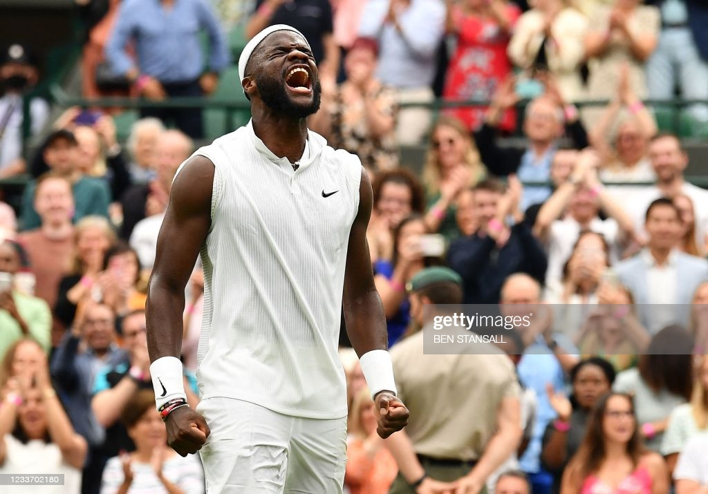 2021 Wimbledon: Frances Tiafoe stuns Stefanos Tsitsipas