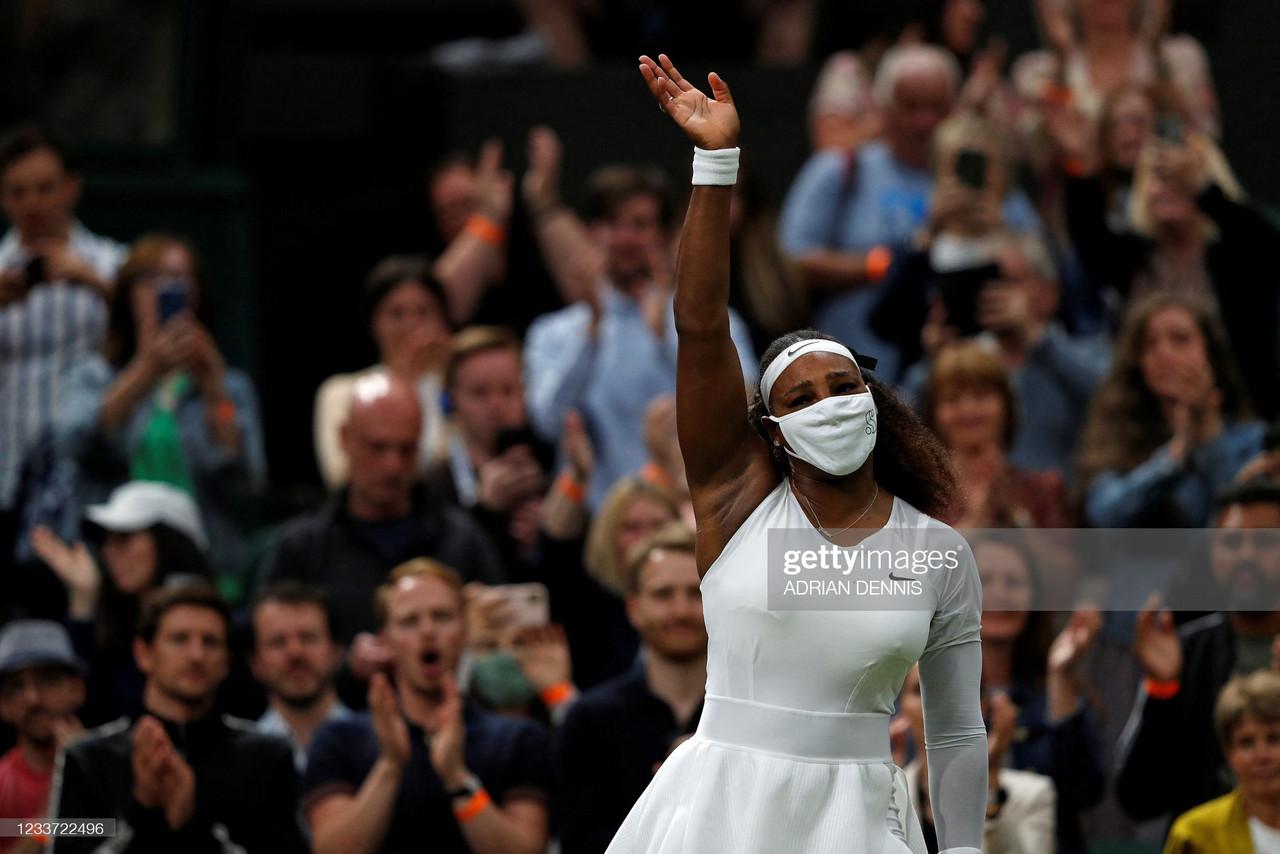 2021 Wimbledon: Serena Williams forced to retire against Aliaksandra Sasnovich