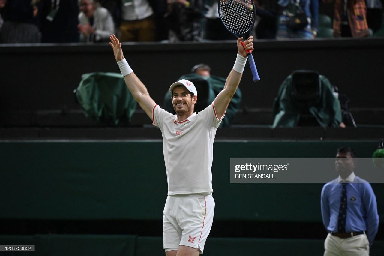 Wimbledon 2021: Andy Murray outlasts Oscar Otte in five-set thriller