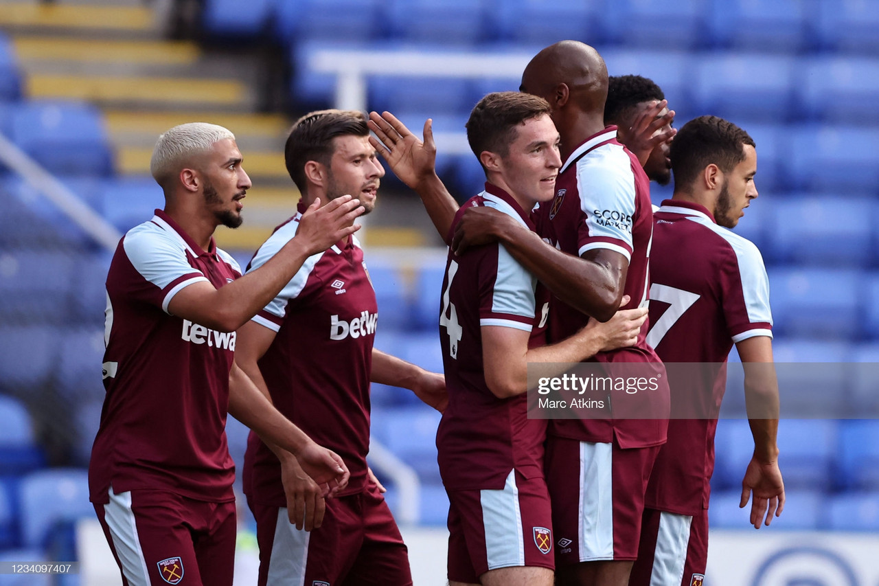 West Ham United ease past Reading FC in fourth pre-season friendly