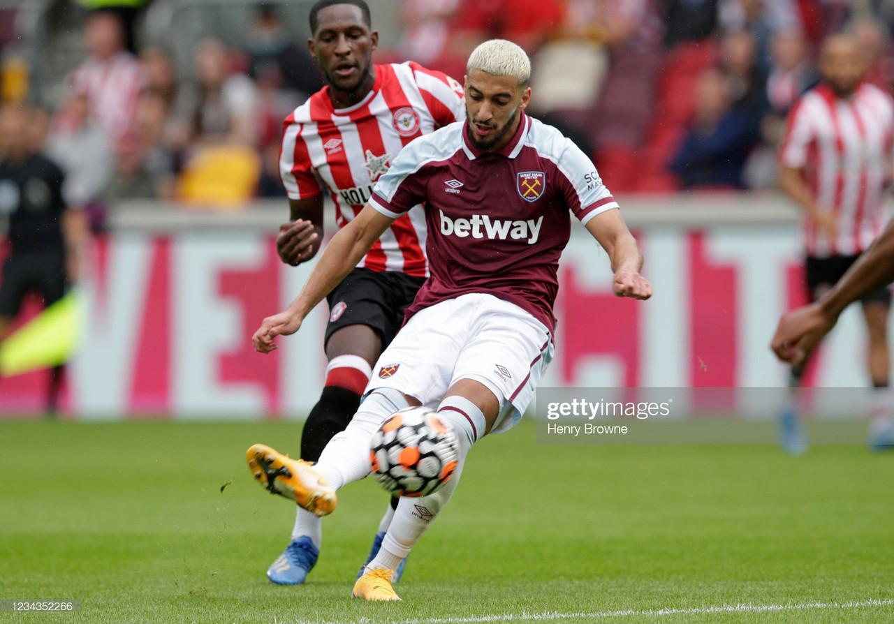 Brentford 0 - 1 West Ham United: Said Benrahma's wondergoal sees his ex-team beaten