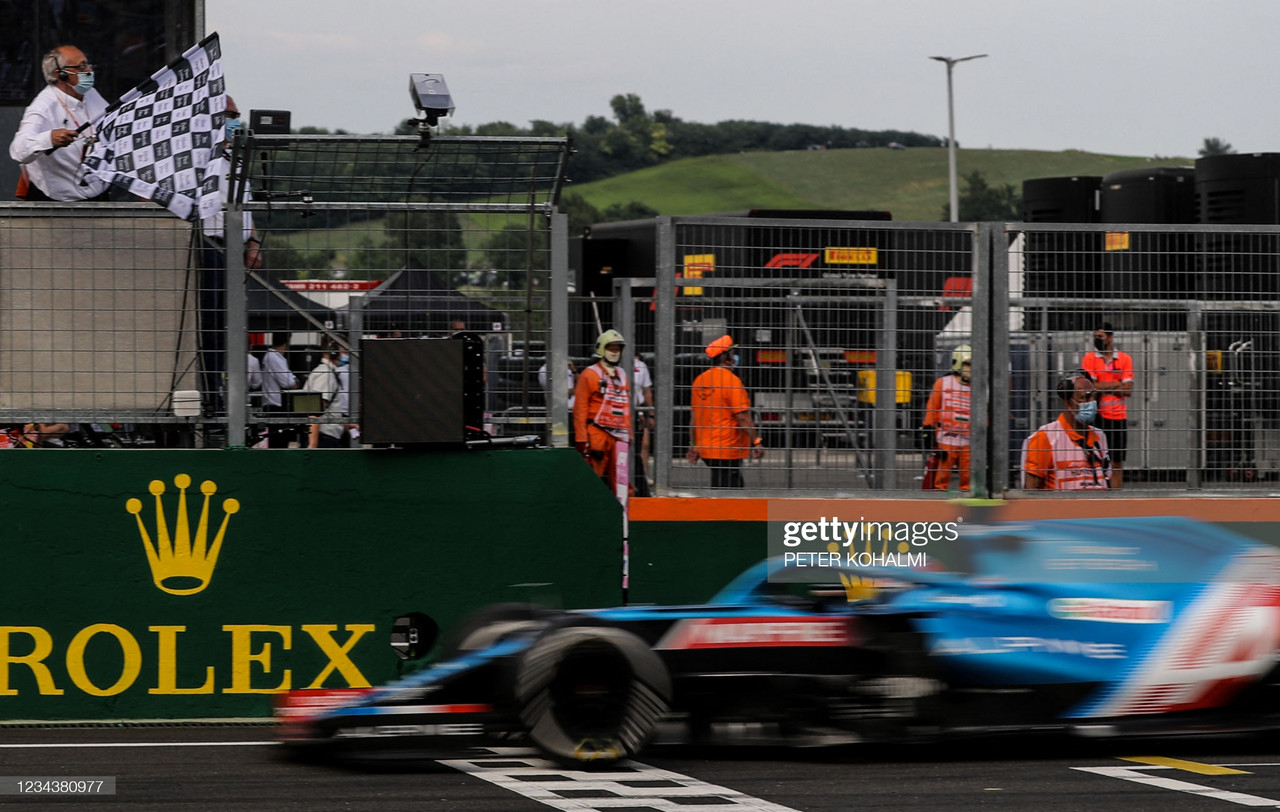 2021 Hungarian GP Race Report - Esteban Ocon takes maiden F1 win as chaos ensues in Hungary
