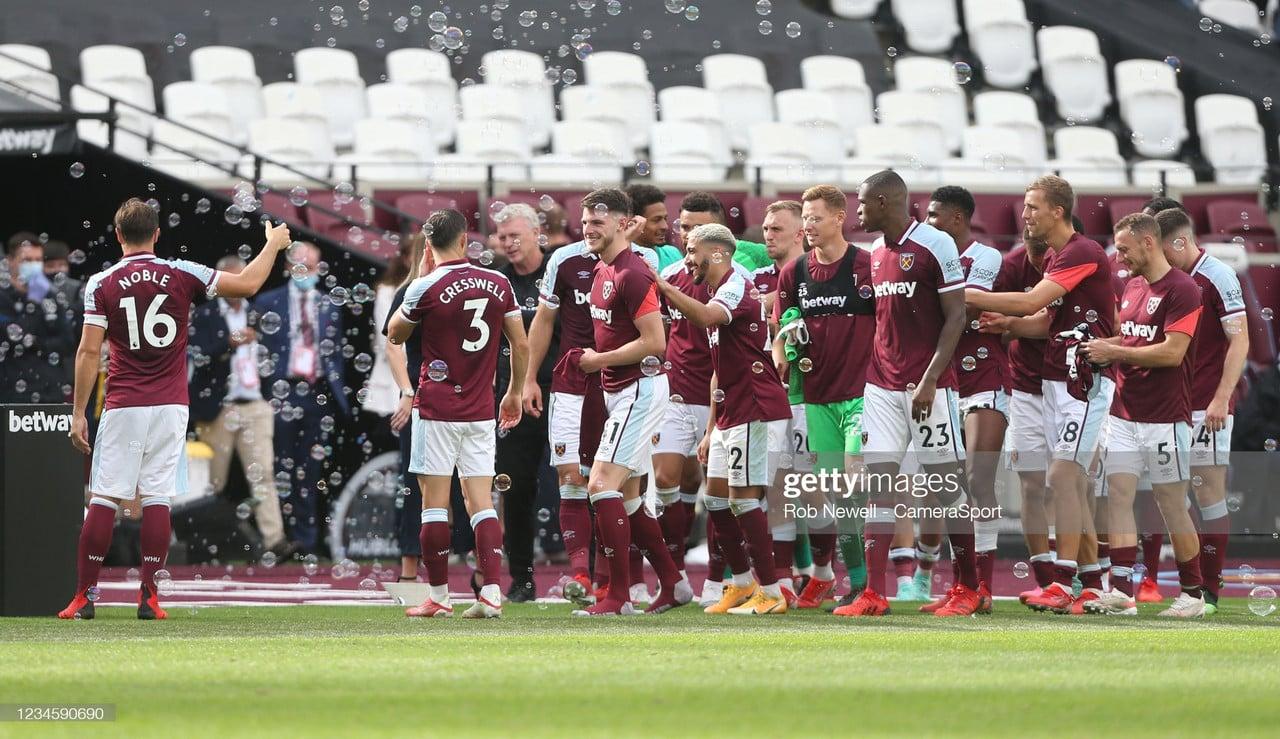 West Ham United 2021/22 Season Preview: Hammers' aim set to challenge European Football