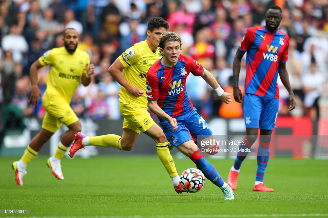Crystal Palace 0-0 Brentford: Gallagher's midfield endeavours fail to reward Vieira with first victory
