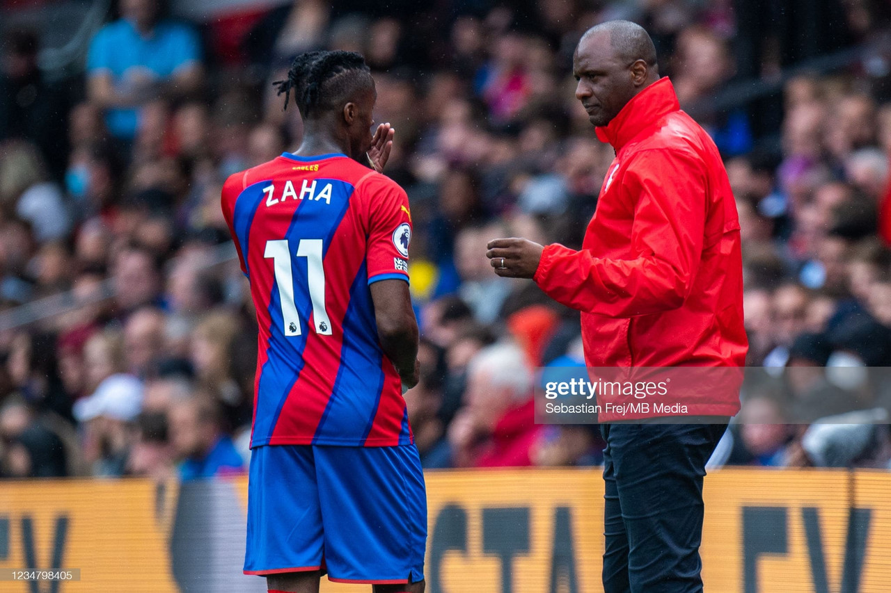 Patrick Vieira: Attack is where Crystal Palace must improve