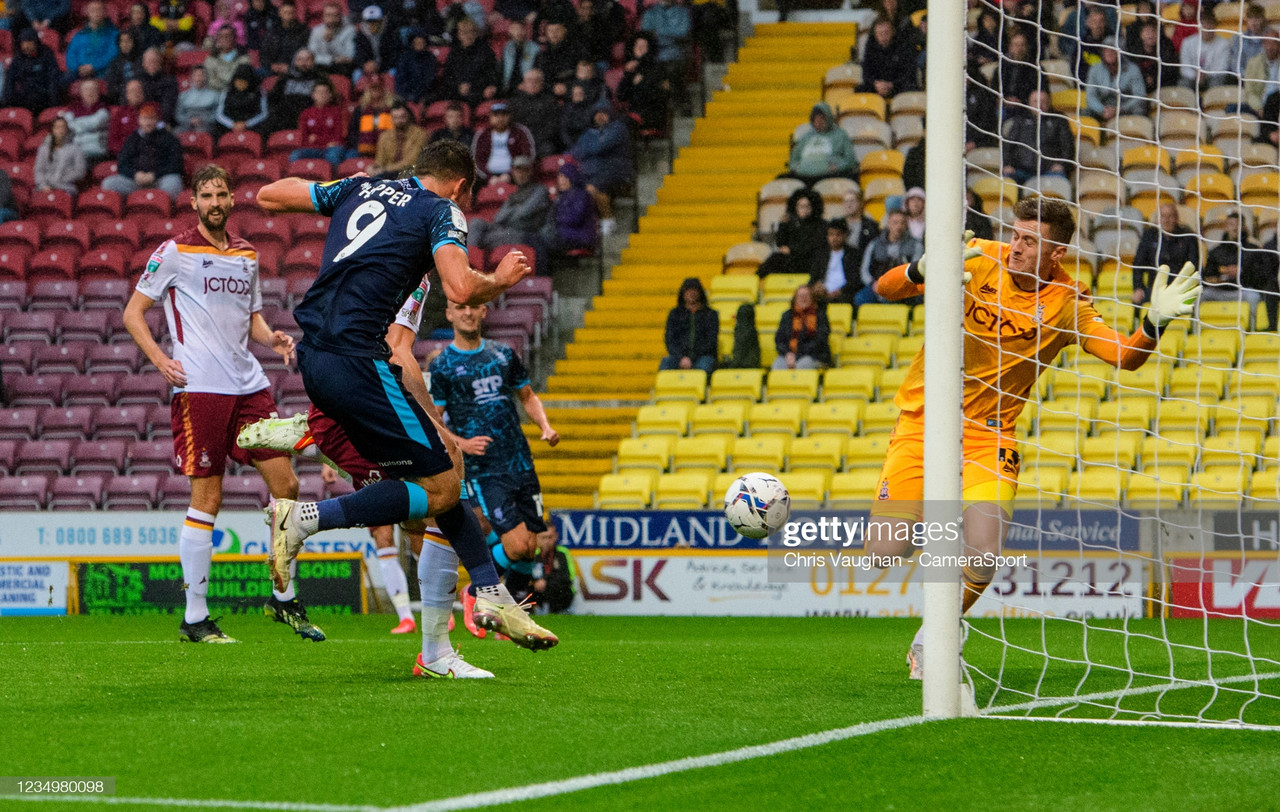 Bradford City 0-3 Lincoln City: Imps secure group qualification in style