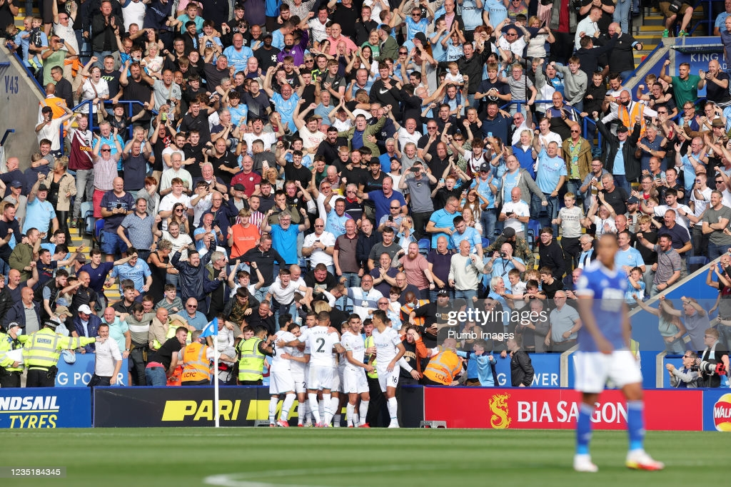 Leicester City 0-1 Manchester City: Bernardo Silva clinches hard fought victory for visitors