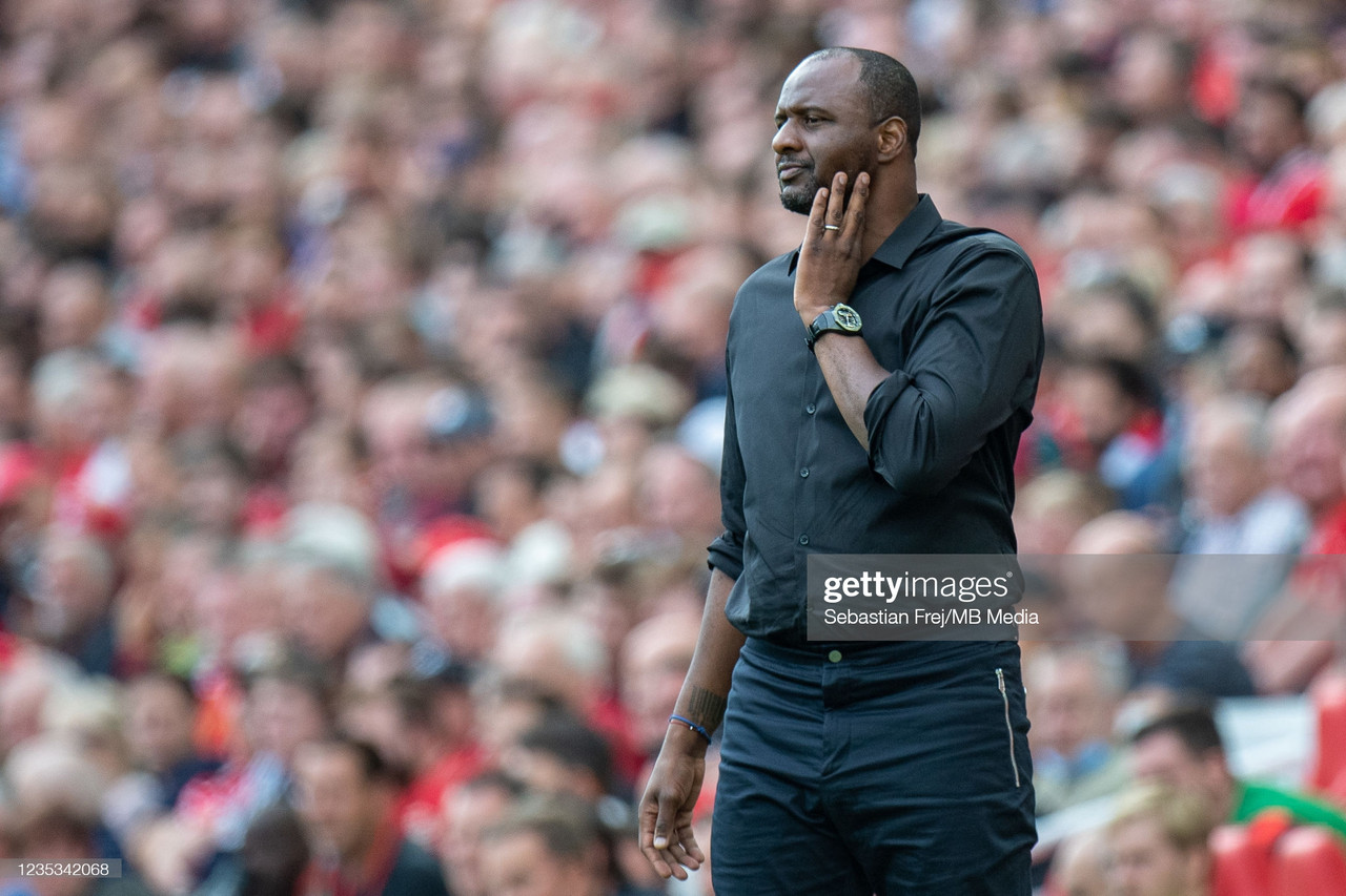 The Brighton rivalry and the role of Odsonne Edouard- Patrick Vieira on Palace's upcoming grudge match