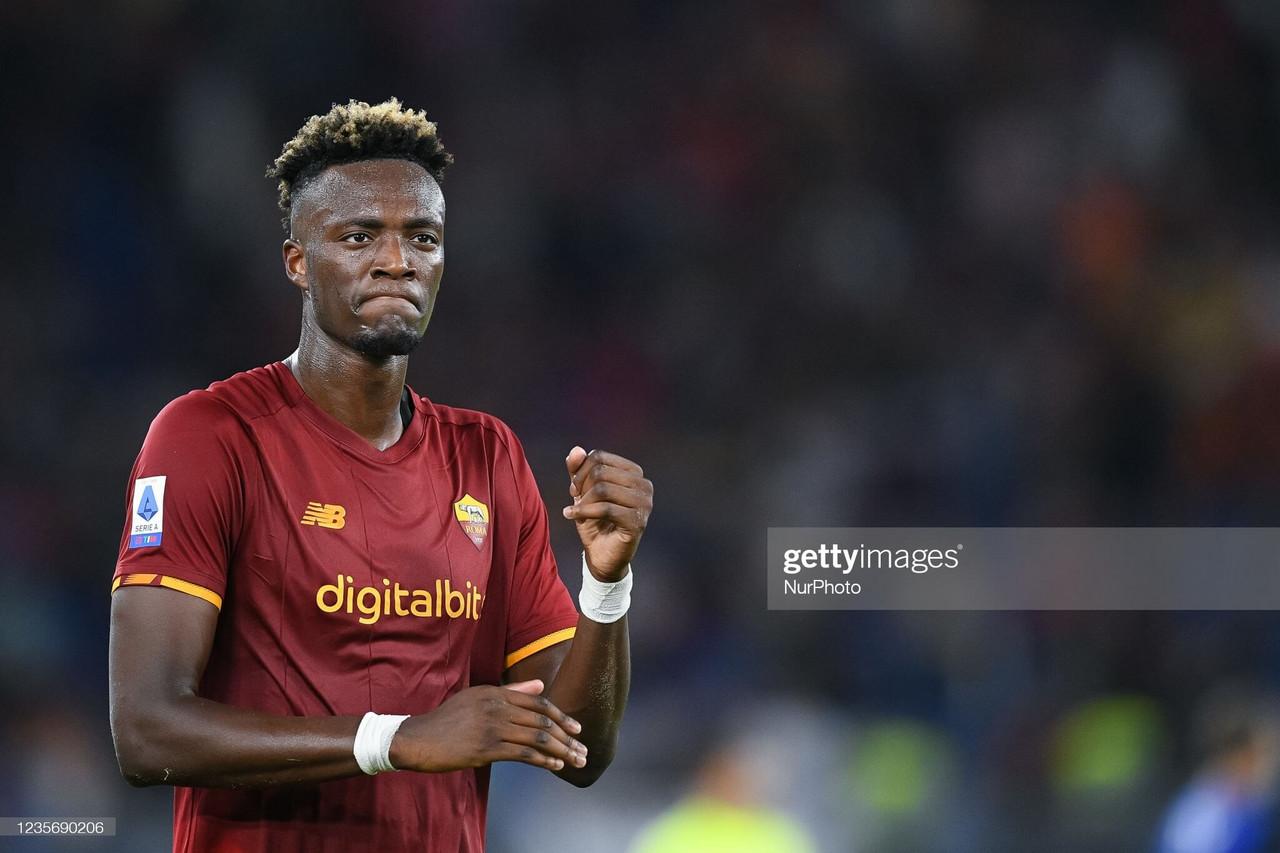 Abraham's Roma form rewarded by Gareth Southgate