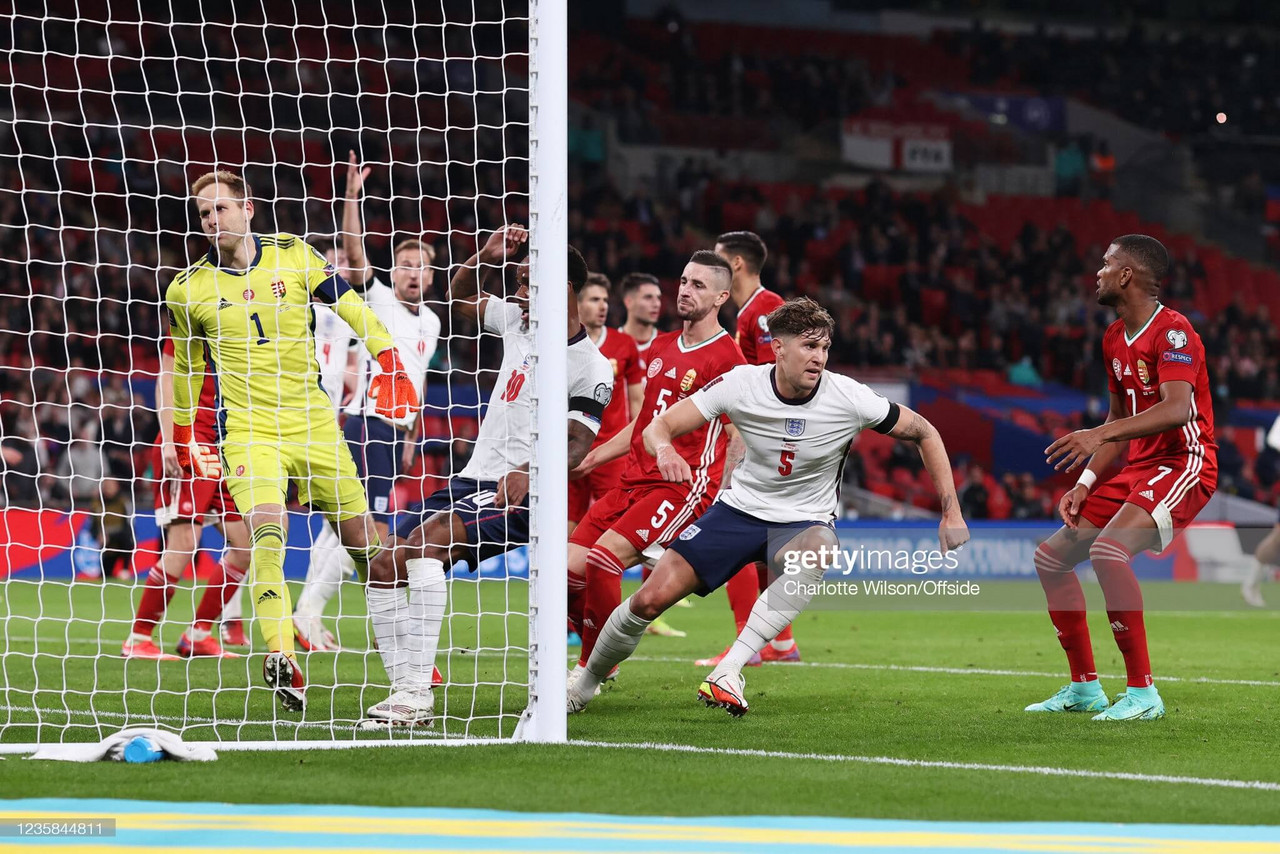England 1-1 Hungary: Stones salvages point from underwhelming England display