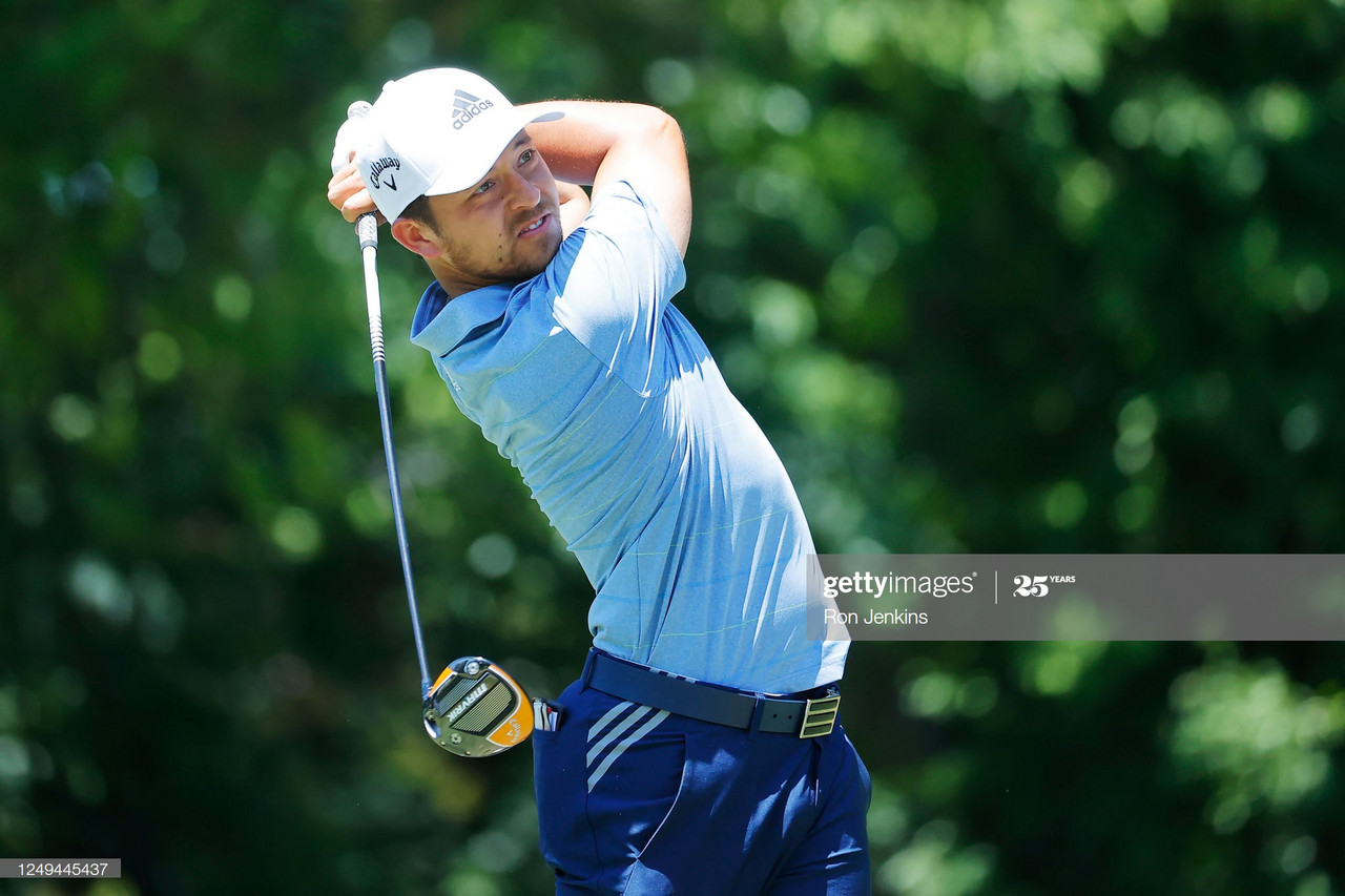 Xander Schauffele leads Charles Schwab Challenge by one shot after 54 holes