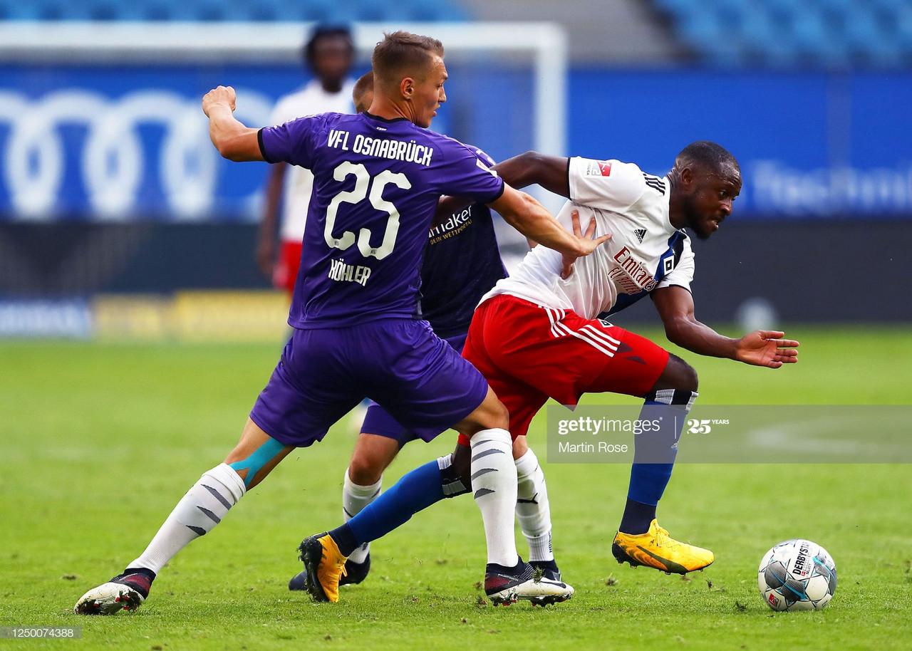 Hamburger SV 1-1 VfL Osnabrück: HSV fail to seize momentum once again as their promotion bid is dented