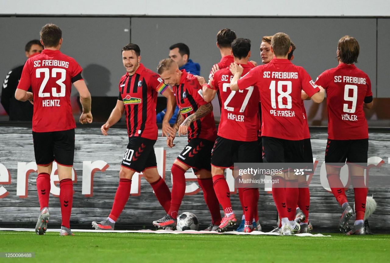 SC Freiburg 2-1 Hertha Berlin: Hosts topple hapless Hertha