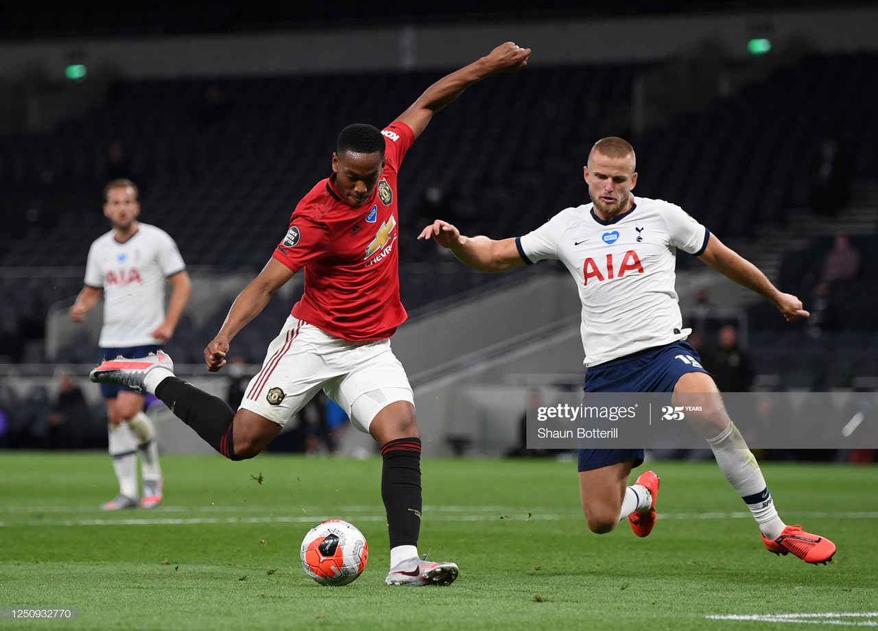 The Warm Down: Manchester United snatch a point late on versus Tottenham Hotspur