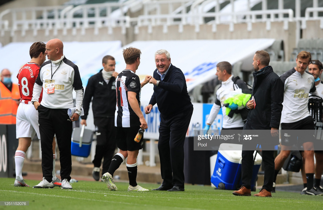 Positive mood at Newcastle United after victory on Premier League return