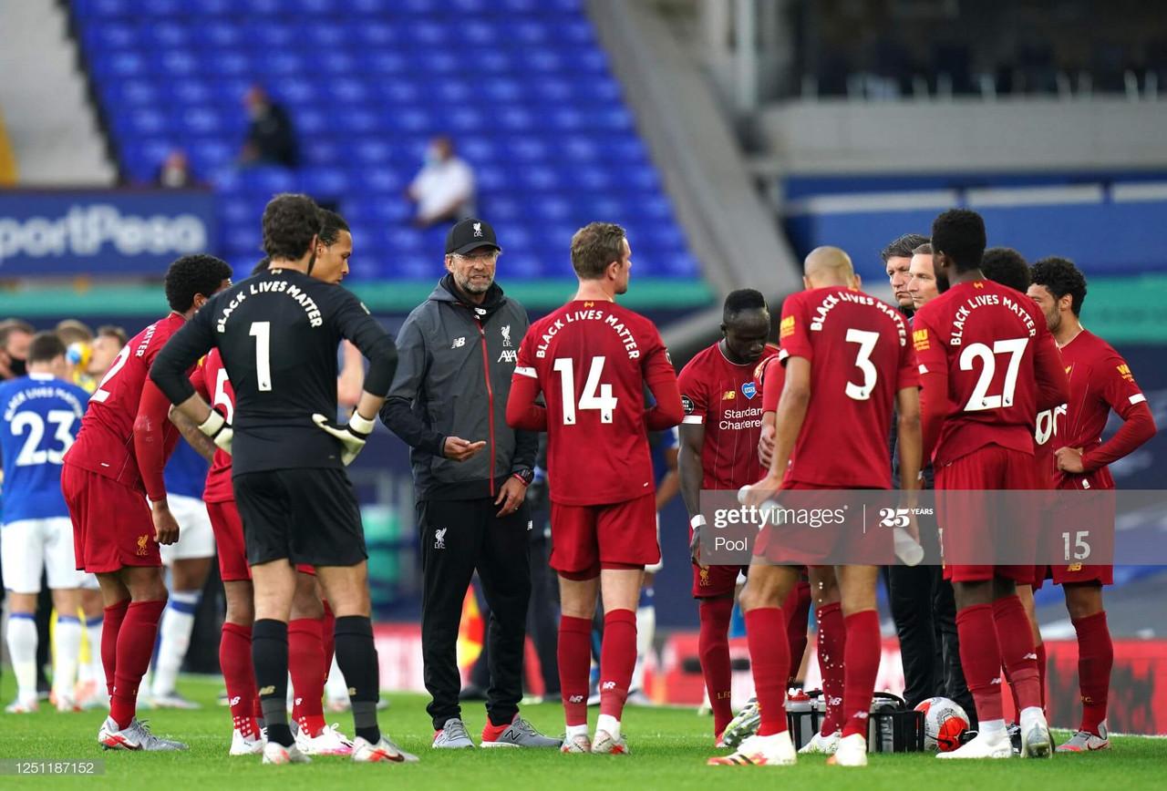 Jurgen Klopp reflects on his side's Merseyside derby draw