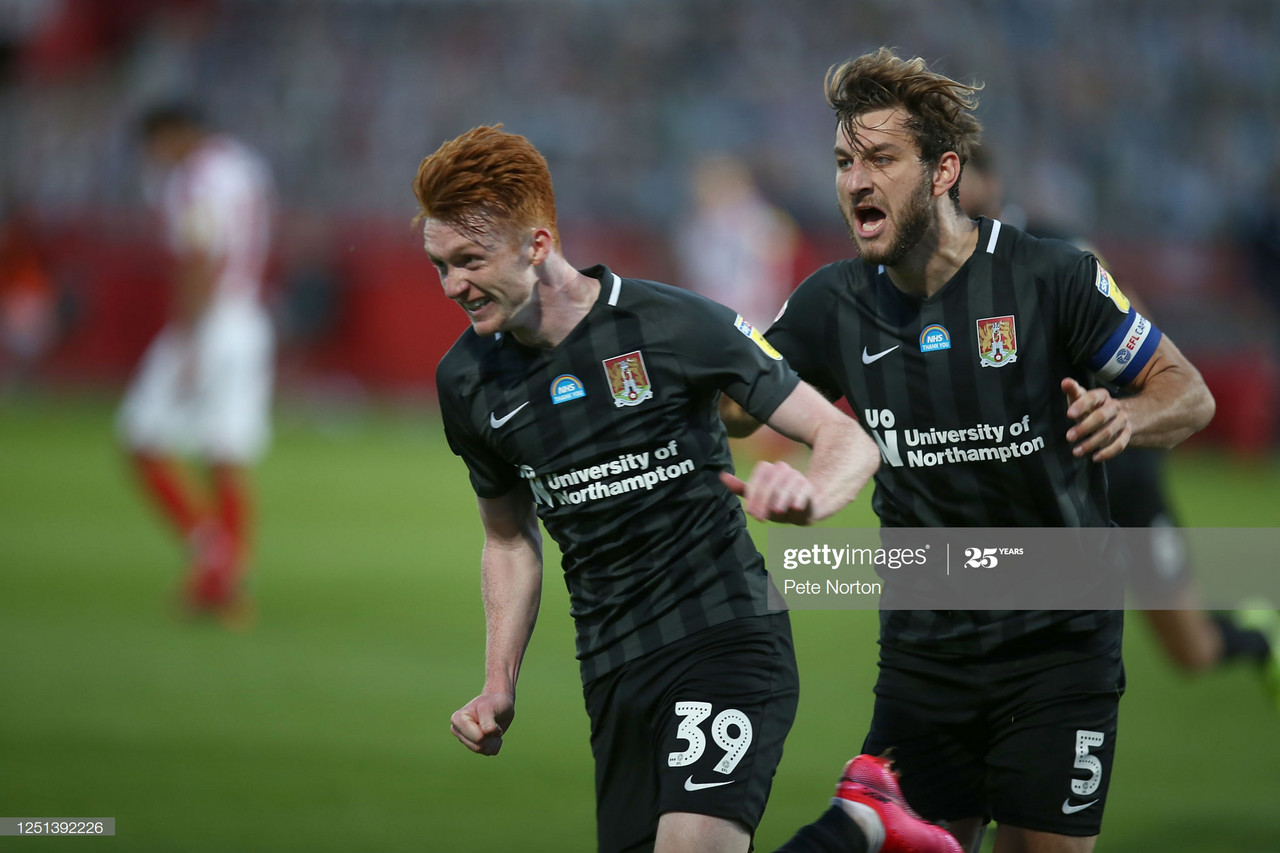 Cheltenham Town 0-3 Northampton Town: Cobblers stage memorable comeback to reach play-off final