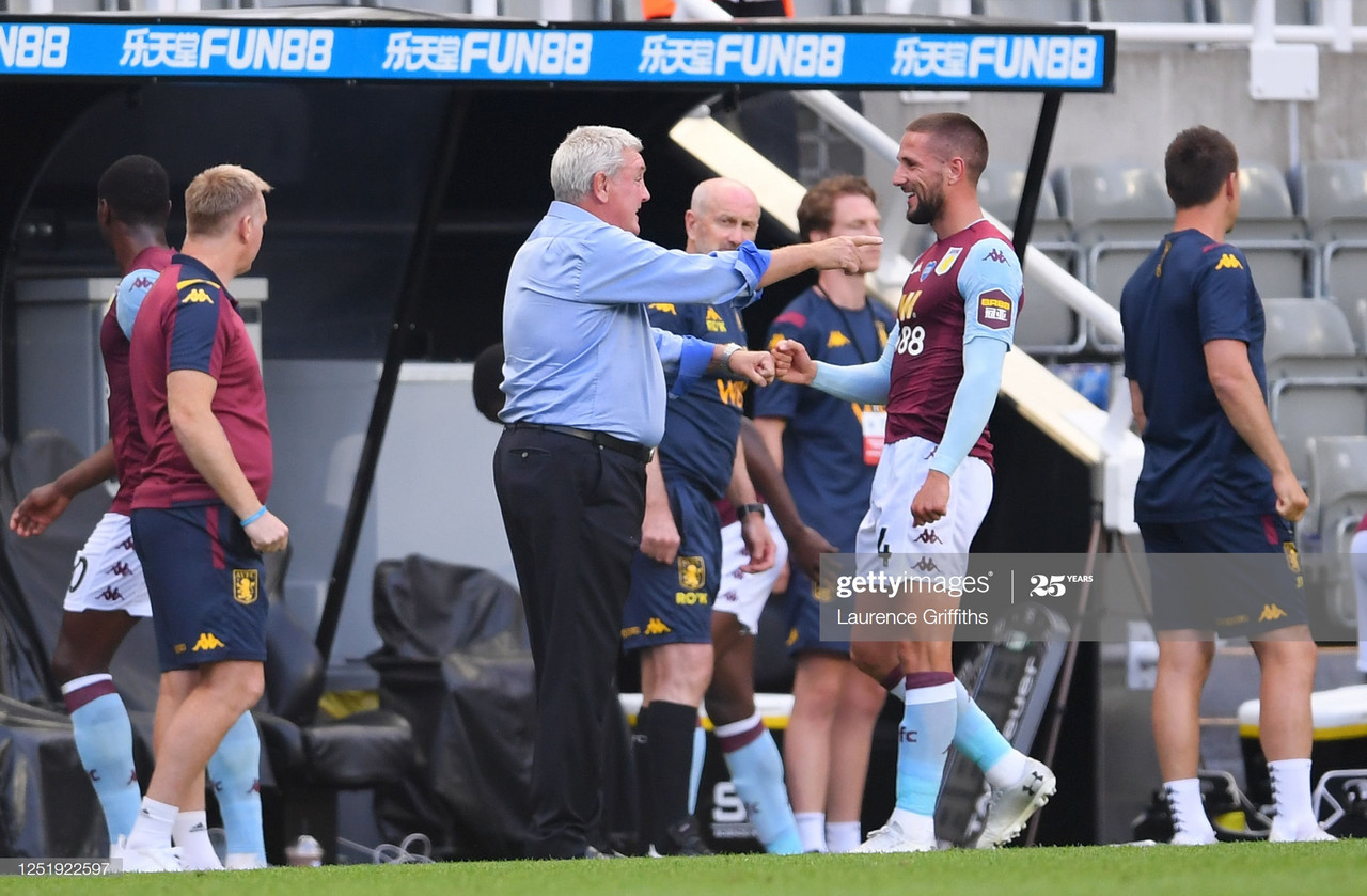 Bruce frustrated to blow lead against Aston Villa