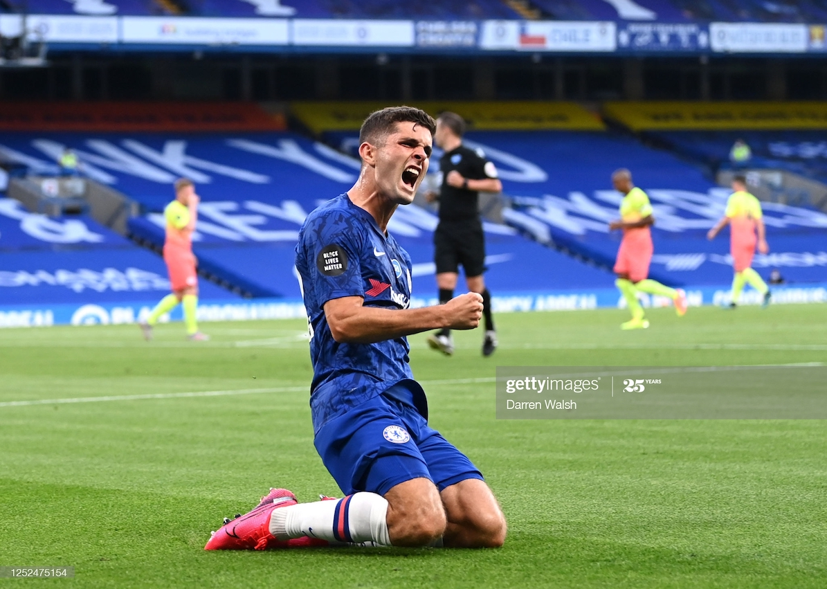 Chelsea's Pulisic the 1st American scorer in an FA Cup final