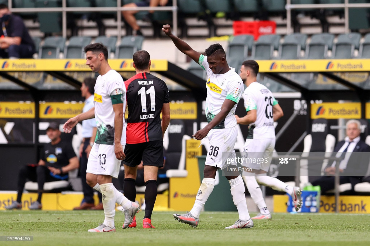 Borussia Monchengladbach 2-1 Hertha Berlin: Die Fohlen book their place among Europe's elite