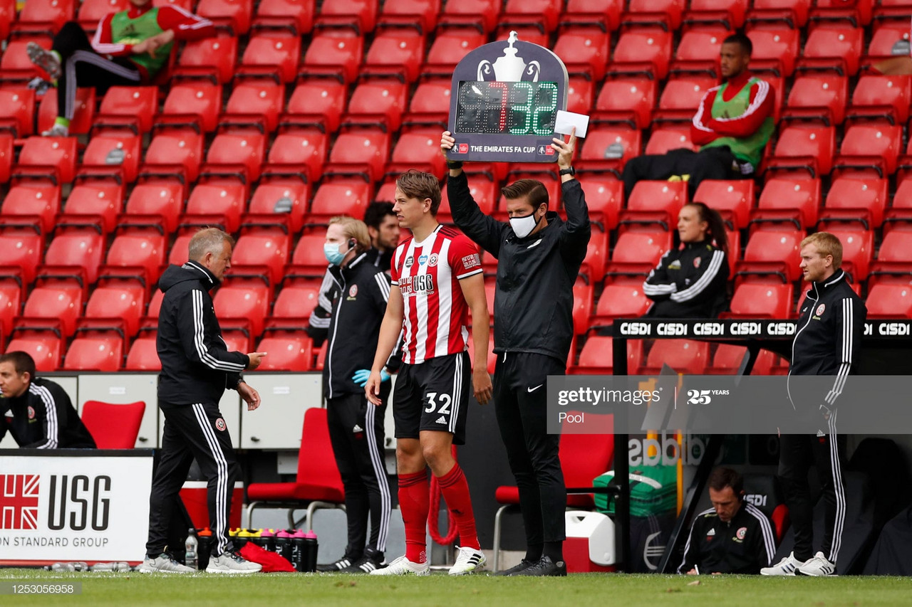 Sheffield United defeat was 'brutal', says Berge