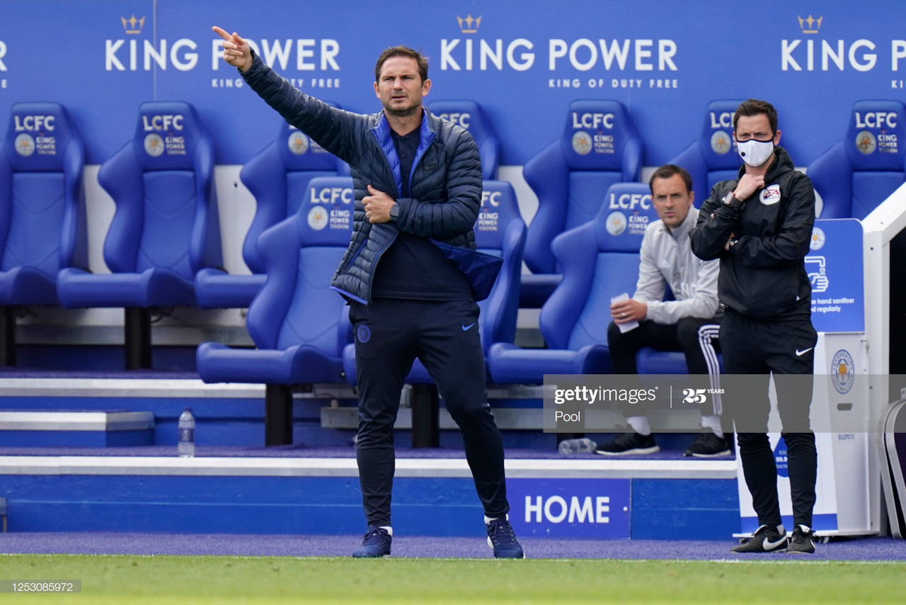Lampard Not Afraid To Make Big Decisions