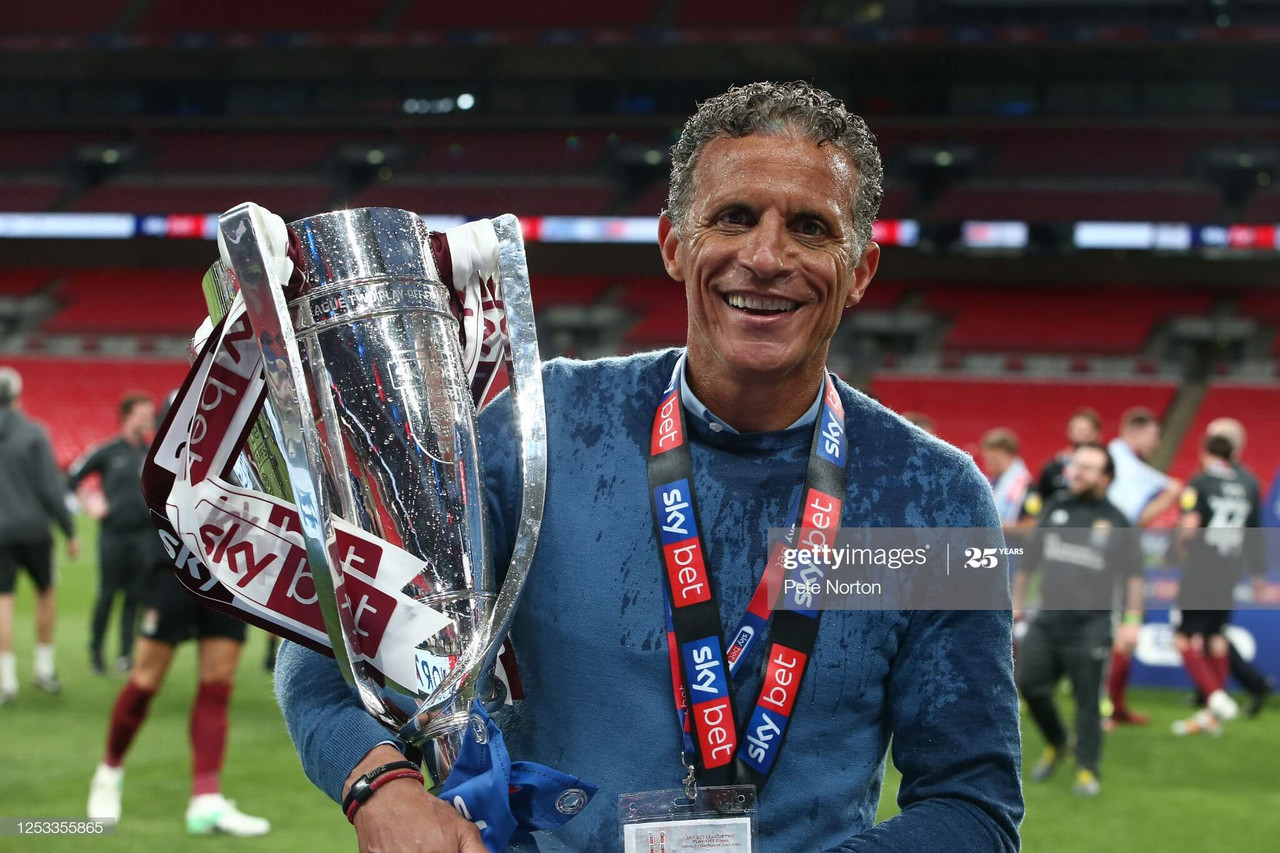 Keith Curle savors promotion after play-off glory