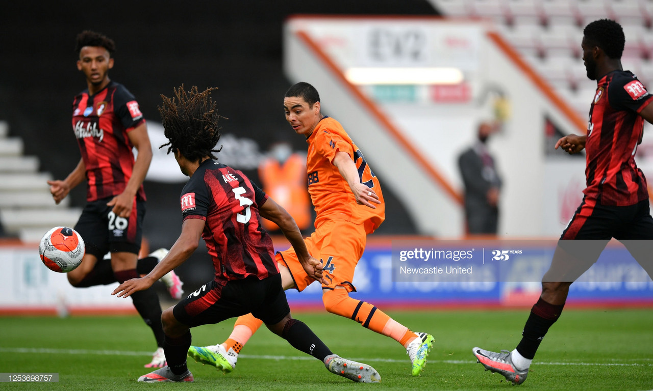 AFC Bournemouth 1-4 Newcastle United: Magpies complete double over Cherries on south coast