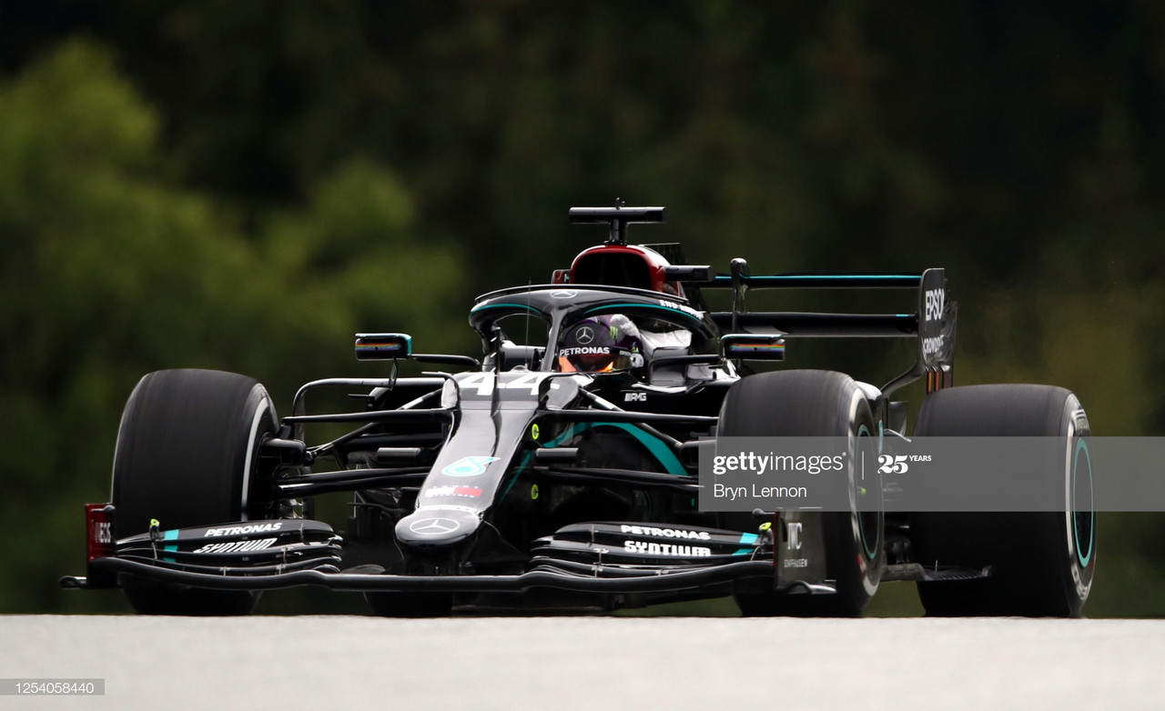 Deja Vu? Hamilton tops the leaderboard in FP2