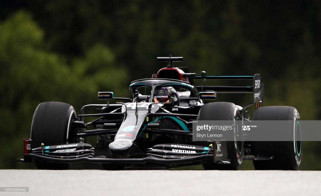 Deja Vu? Hamilton tops the leaderboard in FP2