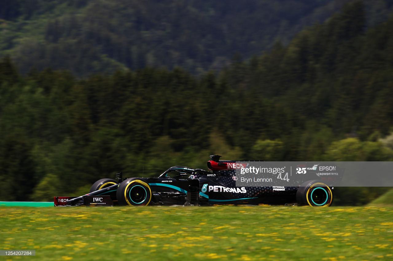 FP3: Mercedes head into Qualifying fastest in Austria