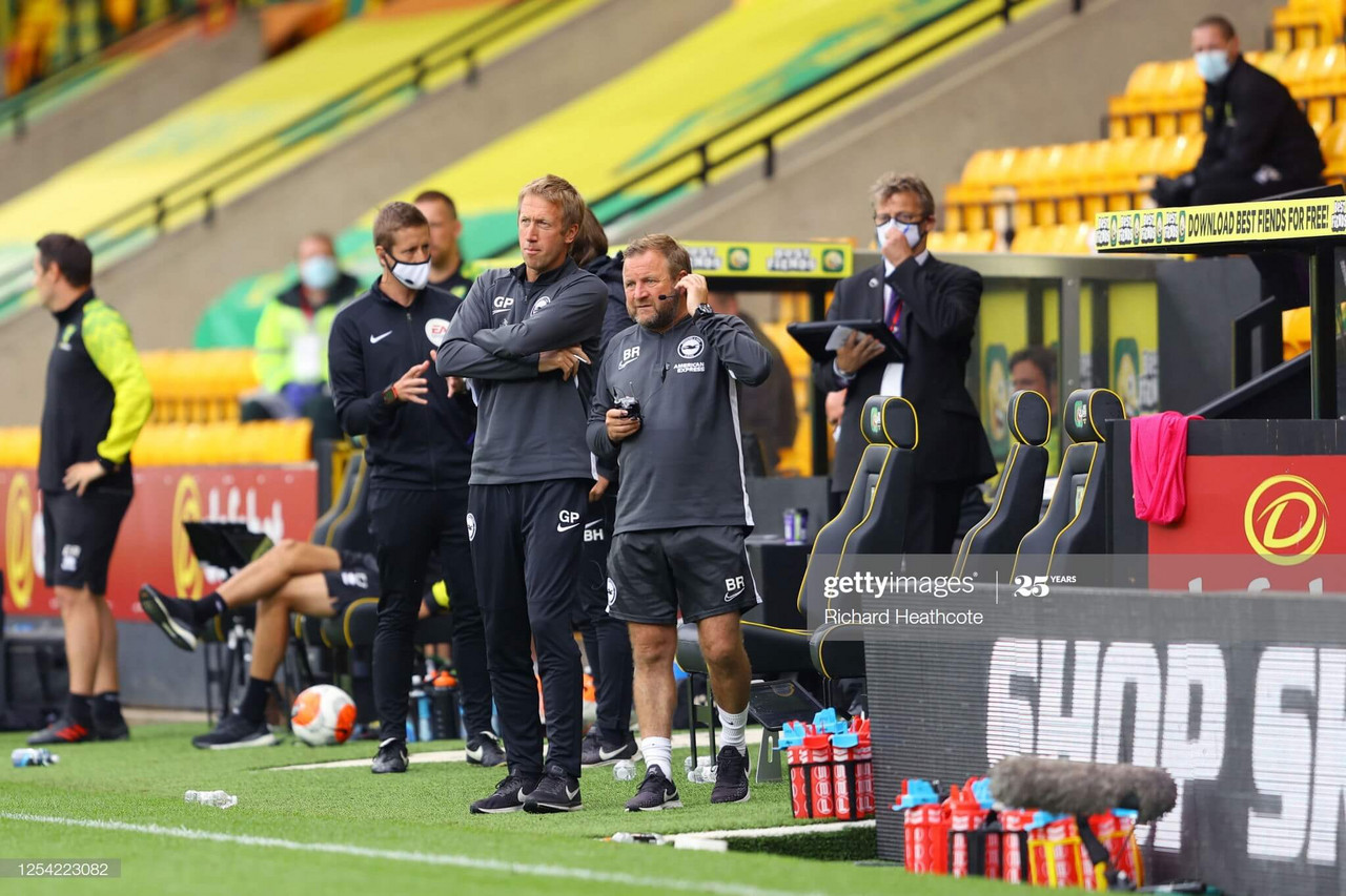 Graham Potter: 'We're absolutely delighted'